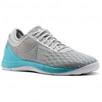Reebok CrossFit Nano Shoes Womens Grey/White/Stark Grey/Grey/Classic White (103GCSLQ)