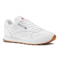 Chaussure Reebok Classic Leather Femme Blanche (105GLJIA)