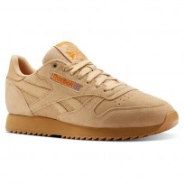 Chaussure Reebok Classic Leather Homme Orange (107CJBQW)