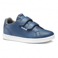 Reebok Royal Comp Shoes Kids Bunker Blue/Shark/White (111USCIY)