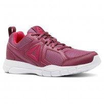 Reebok 3D FUSION TR Training Shoes Womens Twisted Berry/Twisted Pink/White (112UYJBV)