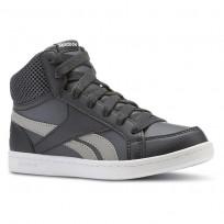 Reebok Royal Prime Shoes Boys Gravel/Graphite/Carbon/White (115XCSHV)