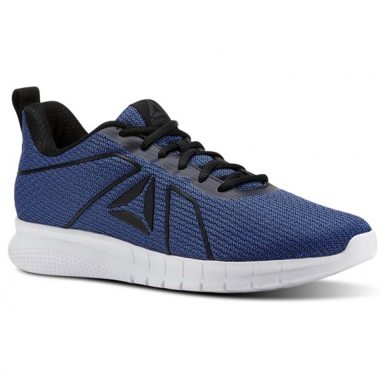 Reebok Instalite Running Shoes Mens Collegiate Royal/Black/White/Pewter (117UHZRF)