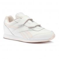 Buty Reebok Royal Classic Jogger Chłopięce Białe/Różowe (120AIPKJ)