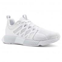 Reebok Fusion Flexweave Cage Running Shoes Womens White/Spirit White (120YTHPC)