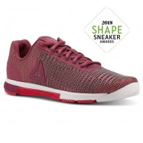 Reebok Speed TR Flexweave™ Training Shoes Womens Twisted Berry/Twisted Pink/White (121YCOFE)