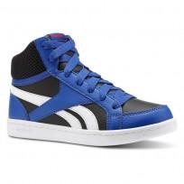 Reebok Royal Prime Shoes Boys Coll Royal/Black/White/Primal Red (122MLJWC)