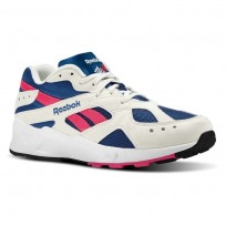 Reebok Aztrek Shoes Mens Og-Chalk/Collegiate Royal/Bright Rose/White (123PMOTX)