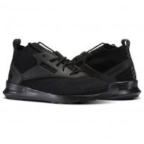 Reebok Zoku Runner Shoes Mens Black/Flint Grey/White (124PACFL)