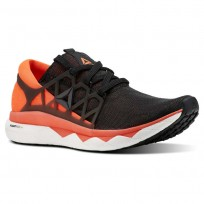 Reebok Floatride Run Running Shoes Mens Black/Atomic Red/White/Ash Grey (128AUGKW)