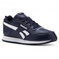 Reebok Royal Glide Shoes Kids Sh-Collegiate Navy/White (136KSIJH)