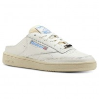 Reebok Club C 85 Shoes Womens Chalk/Paperwhite/Athletic Blue (148OBLPS)