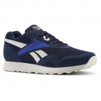 Reebok Rapide MU Shoes Mens Collegiate Navy/Skull Grey/Blue Move/Chalk (150VQYEA)