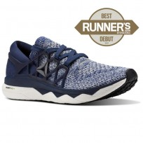 Reebok Floatride Run Running Shoes Mens Collegiate Navy/Washed Blue/Cloud Grey (154SRTCY)