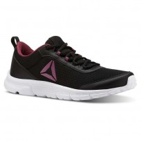 Reebok Speedlux 3.0 Running Shoes Womens We-Black/Twisted Berry (159HPVOL)