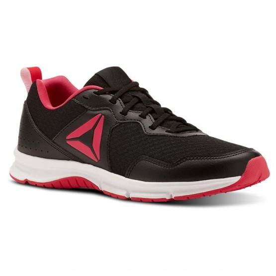 Reebok Express Runner 2.0 Running Shoes Womens Black/Twisted Pink/White (161HCAFD)