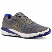 Reebok Harmony Road Running Shoes Mens Alloy/Pewter/Blue Move/White (167DOWML)