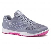 Reebok CrossFit Nano Shoes Womens Purple Fog/White/Acid Pink (171YCAIR)