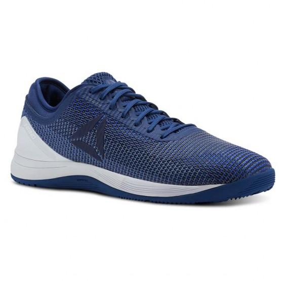Reebok CrossFit Nano Shoes Mens Bunker Blue/Vital Blue/Blue Slate/Spirit Wht (177XNFBQ)