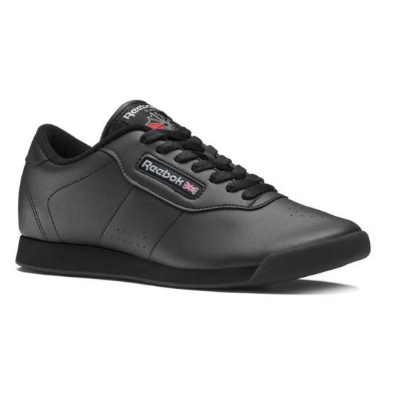Reebok Princess Shoes Womens Intense Black (178LEUJK)