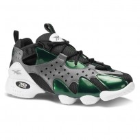 Reebok 3D OP. Shoes Mens Og-True Grey/Opus Green/Black/White (183KDAOZ)