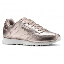 Reebok Royal Shoes Womens Rose Gold/White/Sandy Rose/Shell Pink (189HBSLD)
