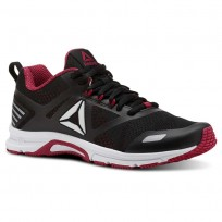 Reebok Ahary Runner Running Shoes Womens White/Black/Rugged Rose (194HXYFQ)