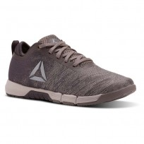 Reebok Speed Training Shoes Womens Face-Almost Gry/Smokyvolcano/Whspr Gry/Violet (195DNQZV)