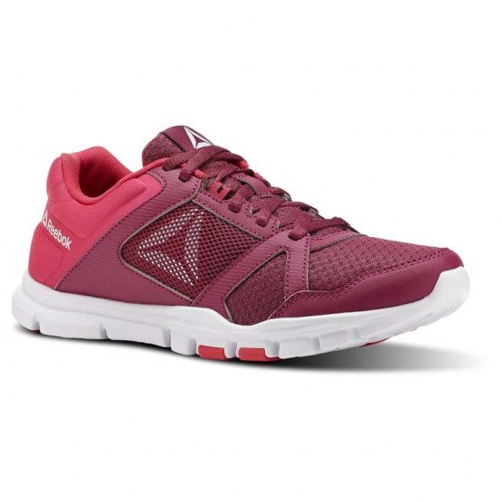 Reebok YourFlex Trainette Training Shoes Womens Twisted Berry/Twisted Pink/White (203TRXFV)