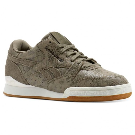 Chaussure Reebok Phase 1 Pro Femme Grise/Rose (205JWZLS)