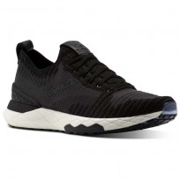 Reebok Floatride 6000 Lifestyle Shoes Womens Black/Coal/White (205ORKBL)