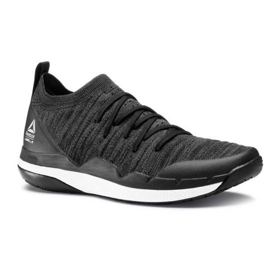 Reebok Ultra Circuit TR ULTK LM Studio Shoes Womens Black/Ash Grey/Skull Grey/White (214ETQHS)