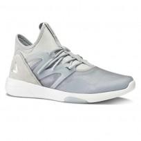 Reebok Hayasu Studio Shoes Womens Cloud Grey/Meteor Grey/Silver Metallic/White (219LGUKI)