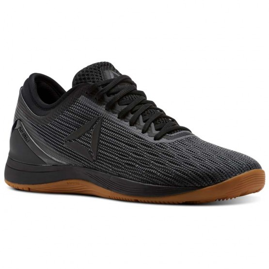 Reebok CrossFit Nano Shoes Womens Black/Alloy/Gum (220WIUHQ)