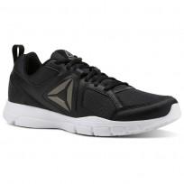 Reebok 3D FUSION TR Training Shoes Mens Black/White/Pewter (230CRTIJ)