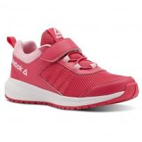 Reebok Road Supreme Running Shoes Girls Twisted Pink/Light Pink/White (231GCRZJ)