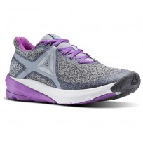Reebok OSR Running Shoes Womens Meteor Grey/Cloud Grey/Vicious Violet (241KNZDE)