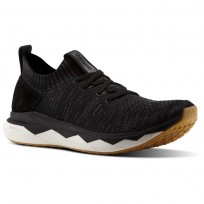 Reebok Floatride RS ULTK Lifestyle Shoes Mens Black/Ash Grey/Coal/Gum (245NXOHP)