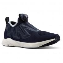 reebok pump supreme style παπουτσια για τρεξιμο ανδρικα σκουρο μπλε/μπλε (247muzqc)