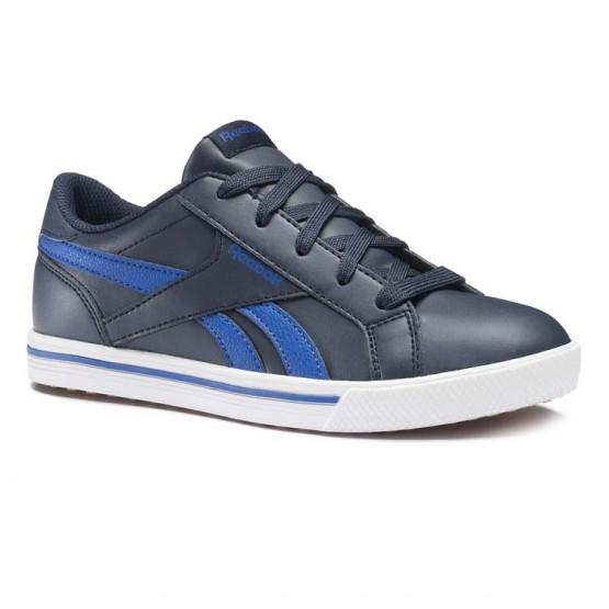 Chaussure Reebok Royal Comp Enfant Bleu Marine/Bleu (250FXOGH)