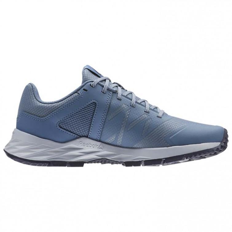 ... Reebok Astroride Trail Walking Shoes Womens Blue Slate Cloud Grey Collegiate  Navy (253OLNRB ... 7042cd3af