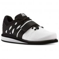 Reebok Lifter PR Shoes For Men White/Black (255BPAJN)