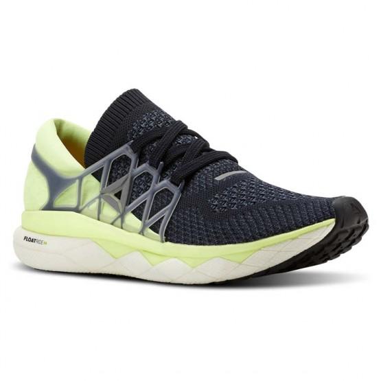 Reebok Floatride Run Running Shoes Mens Night Navy/Smoky Indigo/Smoky Indigo (257DMFNK)