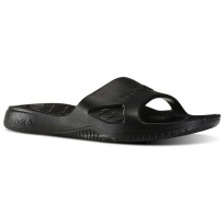 Reebok Kobo H2OUT Slippers Mens Black (262NFZPO)