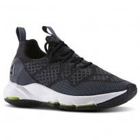 Reebok CloudRide LS DMX Outdoor Shoes Womens Black/Stonewash/White (263VQOBG)