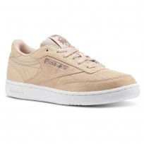 Reebok Club C Shoes Girls Ms-Rose Gold/Bare Beige/White (264SNOHM)