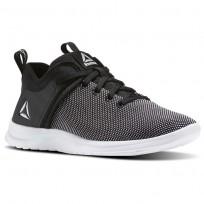 Reebok Solestead Walking Shoes Womens Black/White (275KSRYM)