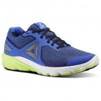 Reebok Harmony Road Running Shoes Mens Acid Blue/CollegiateNavy/White (279UFWGR)