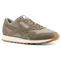 Reebok Classic Nylon Shoes Mens Wthr-Terrain Grey/Chalk (287HWSRT)