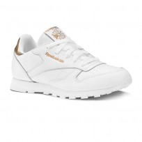 Reebok Classic Leather Shoes Girls Rm-Wht (292RKZOT)
